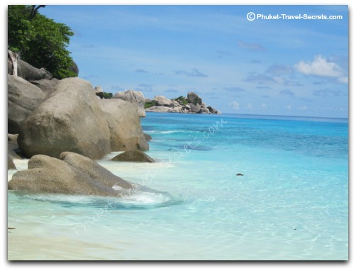 This is what you can expect at the Similan Islands.