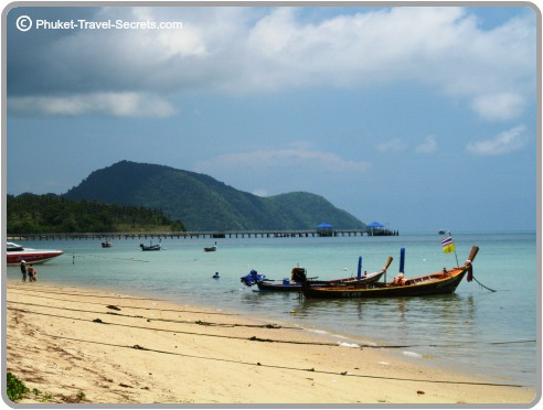 The waters around Rawai are calm and protected all year round,