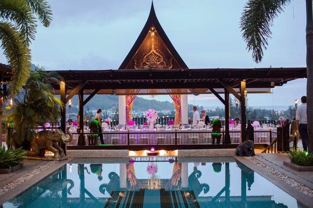Reception ideas in Phuket