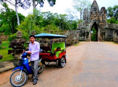 Seila our Tuk Tuk Driver in Siem Reap