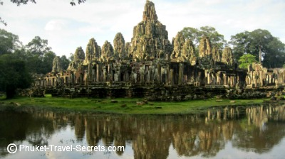 Temples at the Angkor Archaeological Park