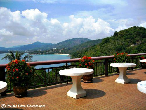 Outdoor terrace and great views at Sabai Corner