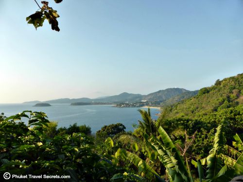 Spectacular views of the three bays of Kata Noi, Kata and Karon from Sabai Corner in Phuket.