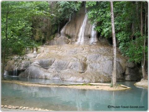 Sai Yok Waterfall, Kanchanaburi, Thailand.