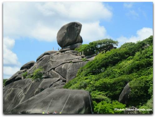Sail Rock on Similan Island #8