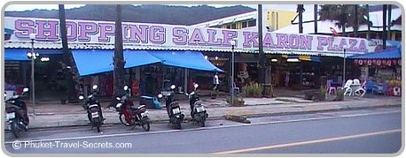 Karon Beach Markets.