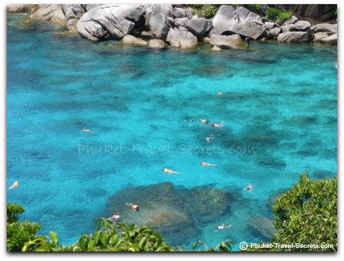 Snorkelling at Ko Similan