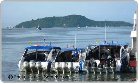 Speed Boats transfers to Phi Phi.