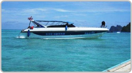 Speed Boat day trips and tours to Ko Phi Phi.