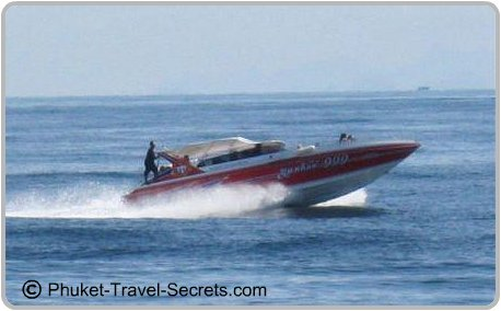 Speed Boat onroute from Phuket To Phi Phi