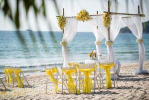 Tropical Beach Wedding Phuket