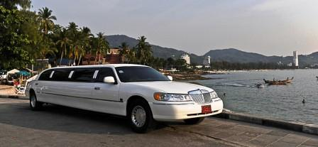 See the sights of Phuket in comfort in this stretch limo.
