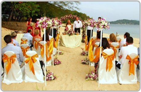 Weddings Sand Ceremony on Beach Wedding Ceremony In Phuket
