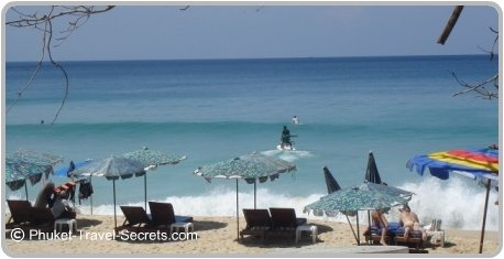Waves at Surin Beach