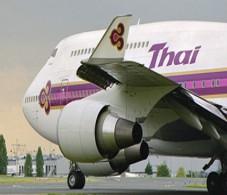 Thai Airways 747