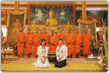 Thai Wedding & Monks Blessing