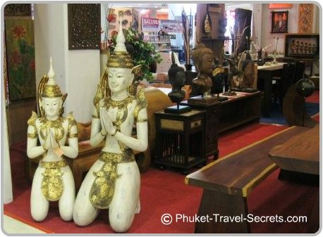Thai Handicrafts include theses Kneeling Teppanom Mythology Angels
