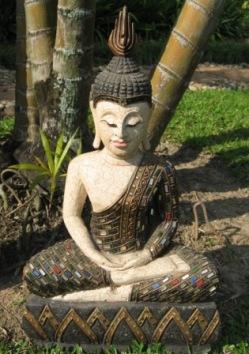 Hand carved Samadhi Buddha
