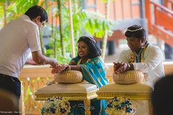 Traditional Thai Wedding blessing