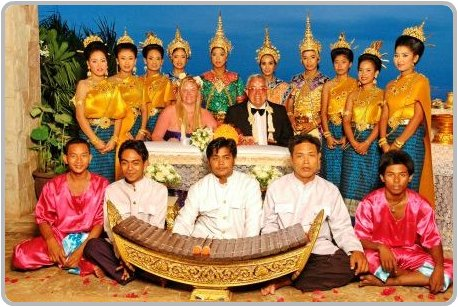 thai wedding alter