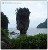 James Bond Island in Phang Nga Bay