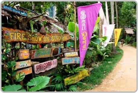 Small World Bar at Ton Sai, Krabi.