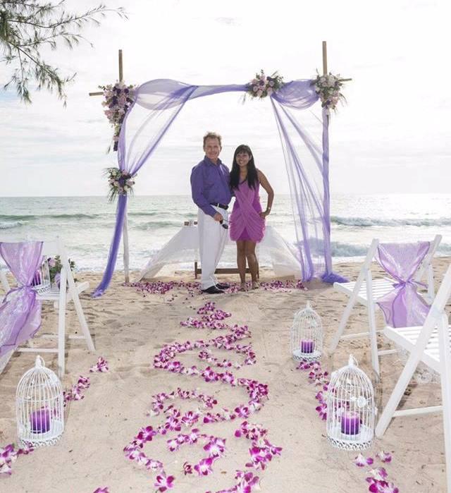 Toom & Paul from Phuket Wedding Flowers