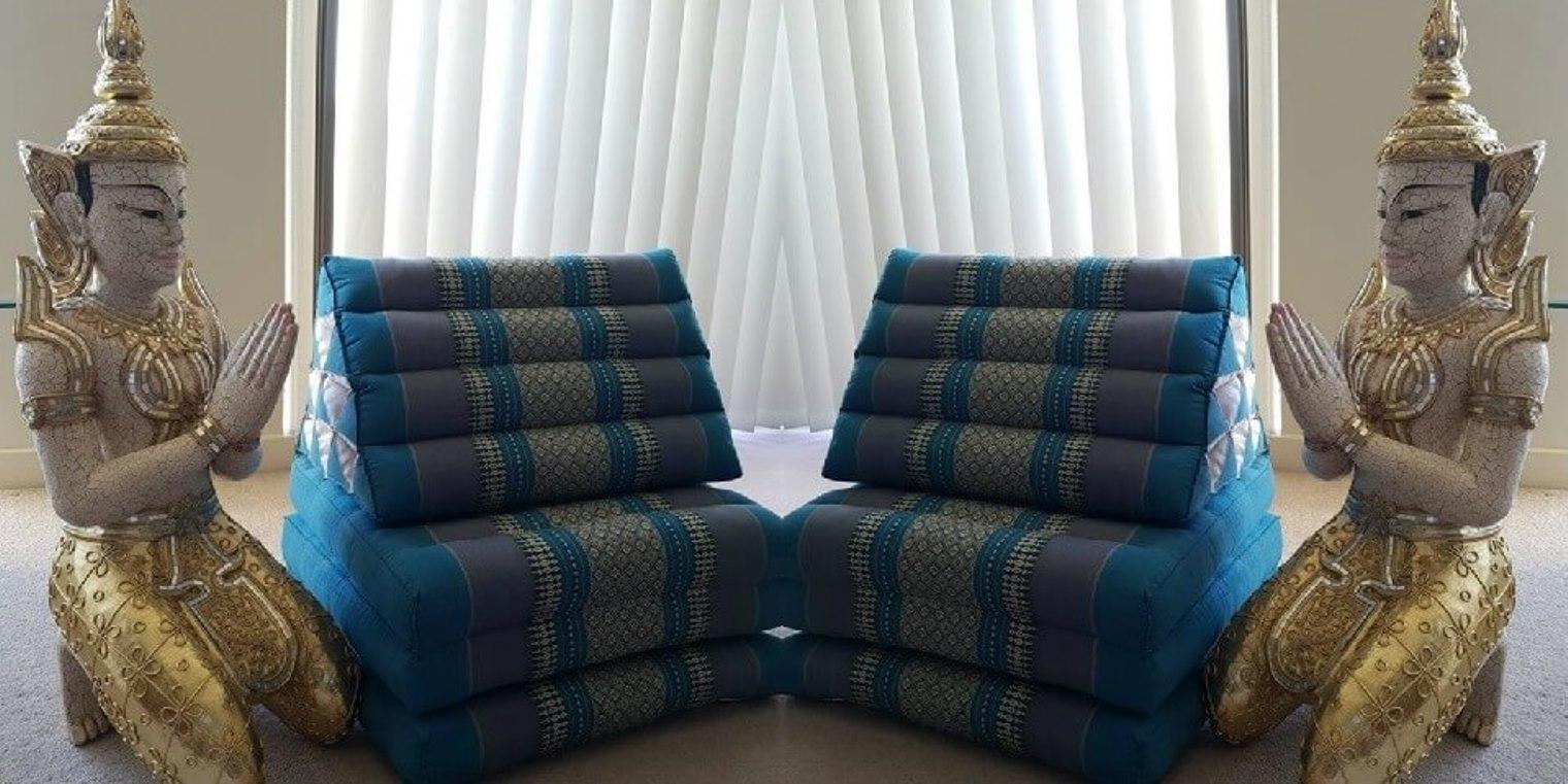 Thai Floor Cushions Triangle Pillow