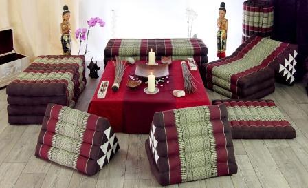 Thai Floor Cushions Triangle Pillow Thailand