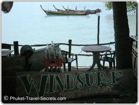 Windsurf restaurant at Tri Tra