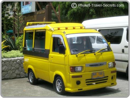tuk tuks in phuket thailand transport travel tips. Black Bedroom Furniture Sets. Home Design Ideas