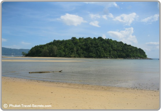 Kala Island is located just offshore from Layan on the north west coast of Phuket.