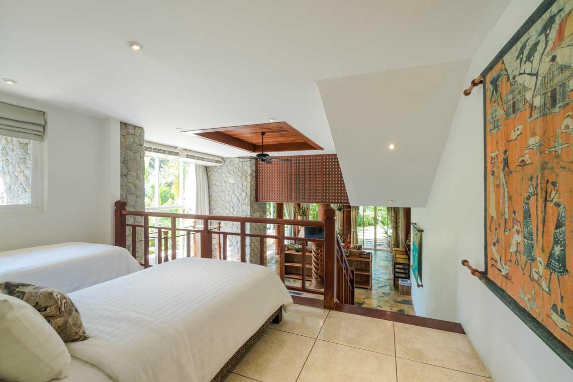 Seven Bed Holiday Villa Floor Plan