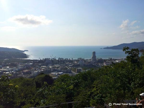 View of Patong Bay from Wassa Homemade Bar.