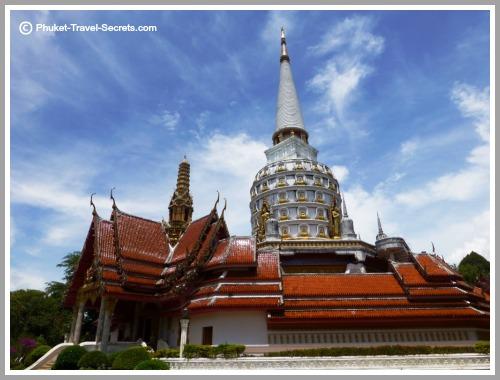 Wat Bang Riang in Phang Nga Province Thailand.