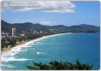 View of Karon Beach Phuket