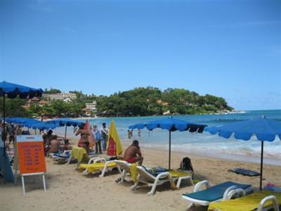 Surf board hire at Kata beach Phuket