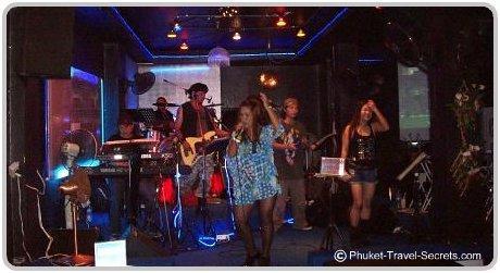 Live bands in Bangla Road Phuket