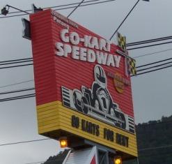 Patong Speedway Sign in Phuket
