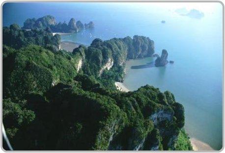 Krabi Coastline.