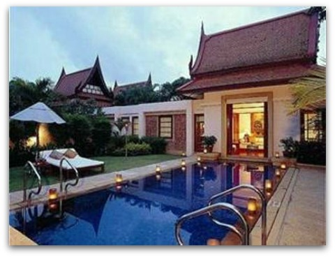 Luxury private villas in Phuket