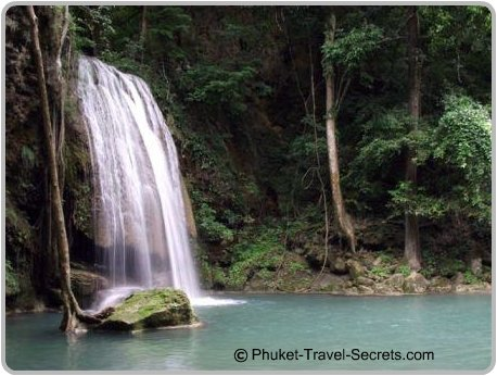 Erawan Falls, Kanachanaburi Thailand.