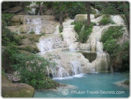 Erawan Waterfalls have lots of swimming holes where you can cool down.