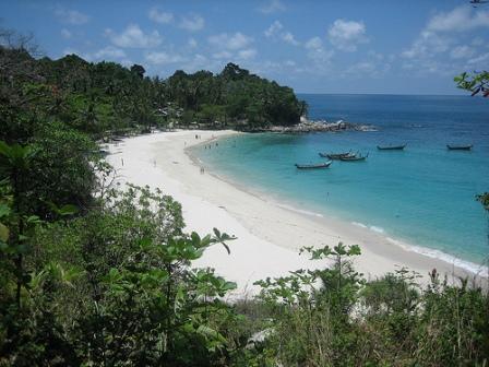 The beautiful Freedom Beach in Phuket., Thailand.