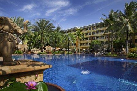Pool at the Holiday Inn Resort at Patong Beach