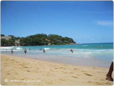 View of Kata Beach Phuket.