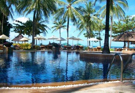 Katathani Beach resort at Kata Noi, Phuket