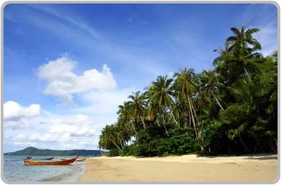 Beach at Koh Lone