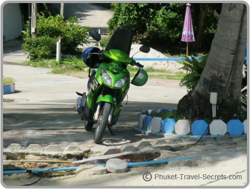 Motorcycle Hire in Phuket