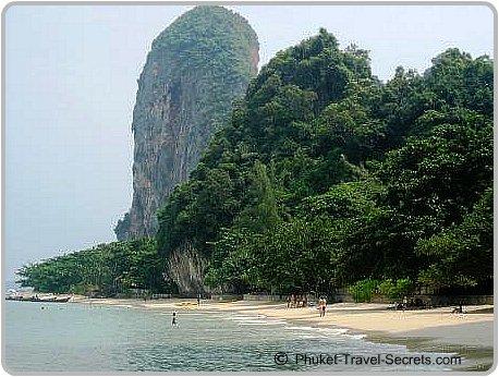 Phra Nang Beach.